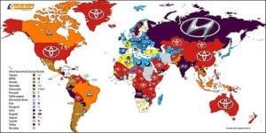Marcas de coches más buscadas en 2016 mundo