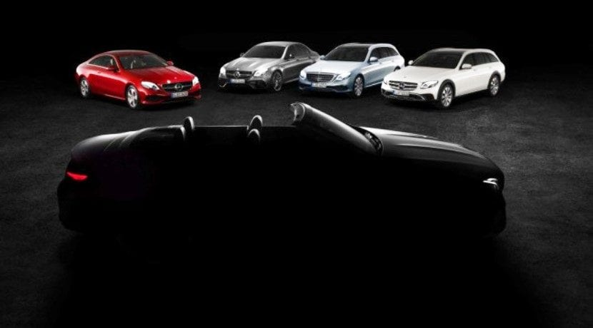Mercedes-Benz Clase E Cabriolet Teaser