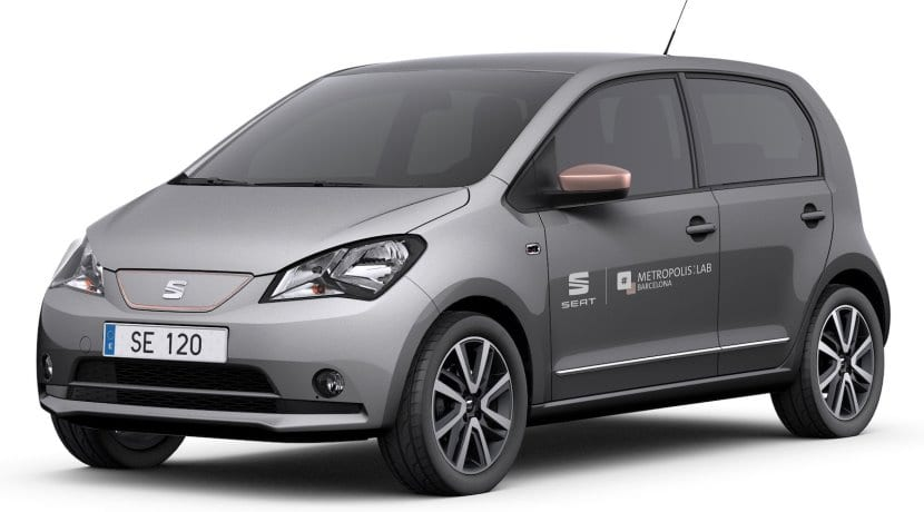 Seat e-Mii Car-Sharing