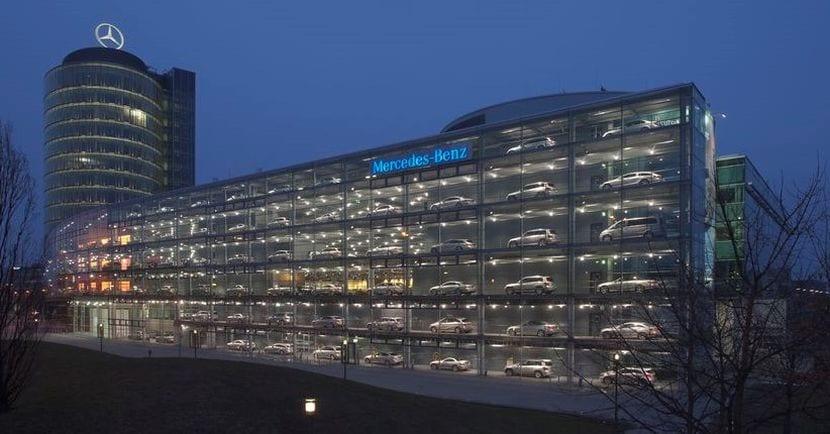 Concesionario Mercedes-Benz en Muchich