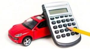 Calculadora financiera para el crédito del coche