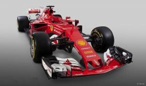 Ferrari SF70-H torcido