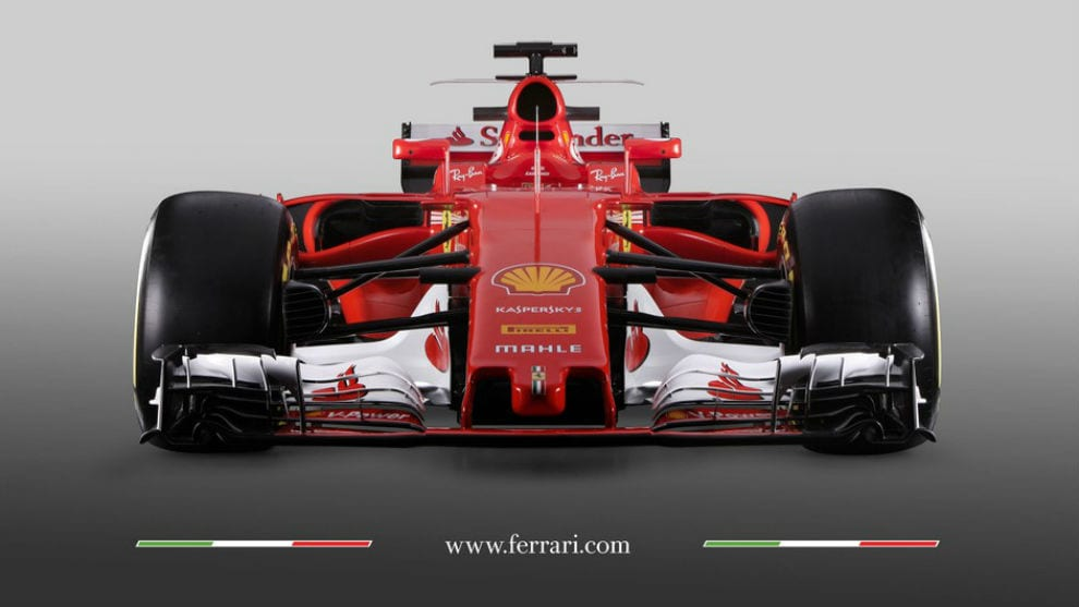 Ferrari SF70-H frontal