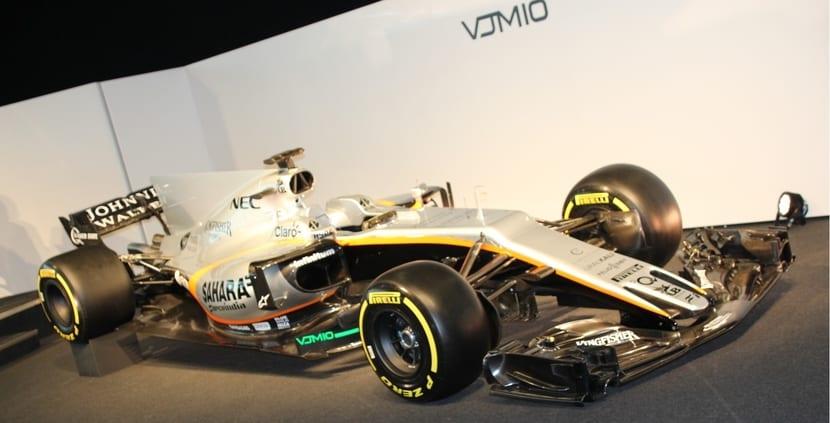 Force India VJM10 de 2017