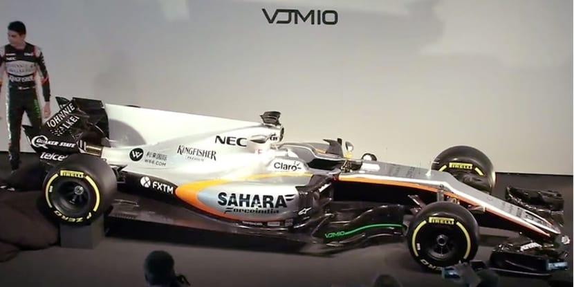 Force India VJM10 presentación
