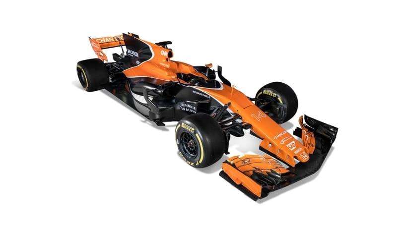 MCL32 de McLaren-Honda