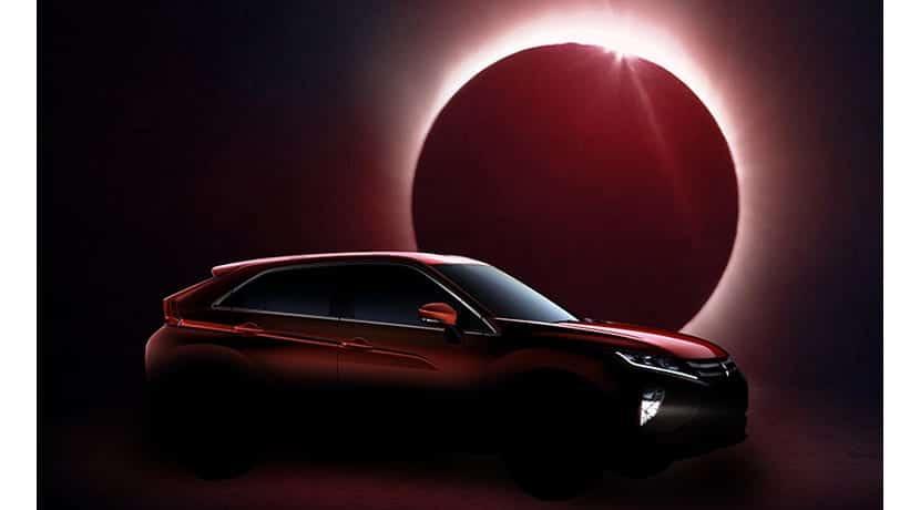 Teaser Mitsubishi Eclipse Cross