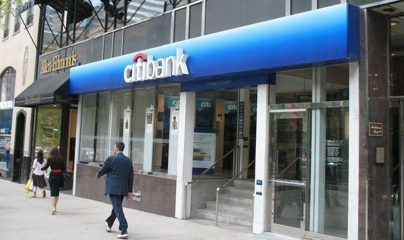 Oficina de una entidad financiera