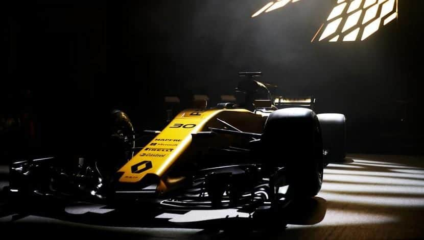 Renault RS17 frontal