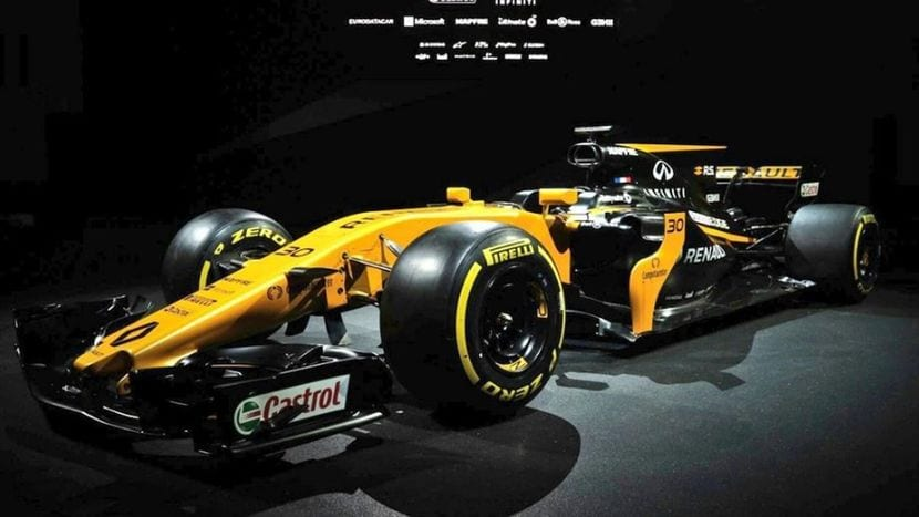 Renault RS17 lateral