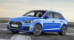Render Audi A1
