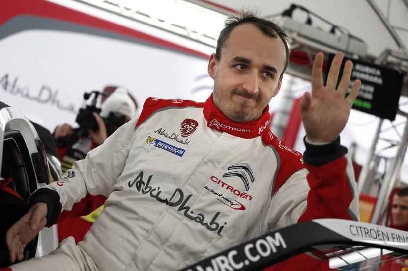 Kubica en 2014