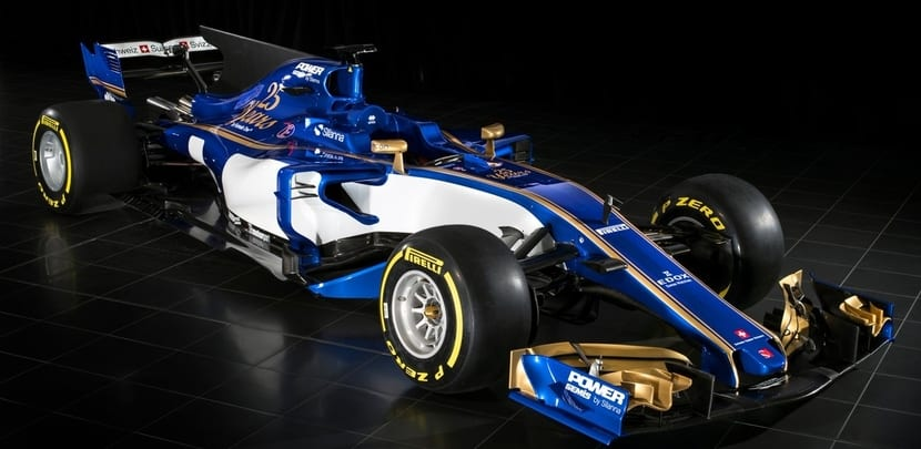 Sauber lateral