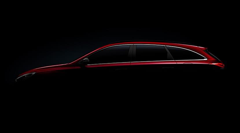 teaser Hyundai i30 SW