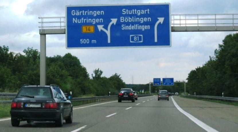 Autobahn carreteras Alemania