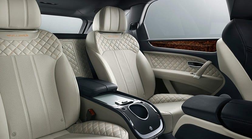 todo lujo en este Bentley Bentayga Mulliner