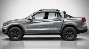 BMW-X Pick-Up Rendering