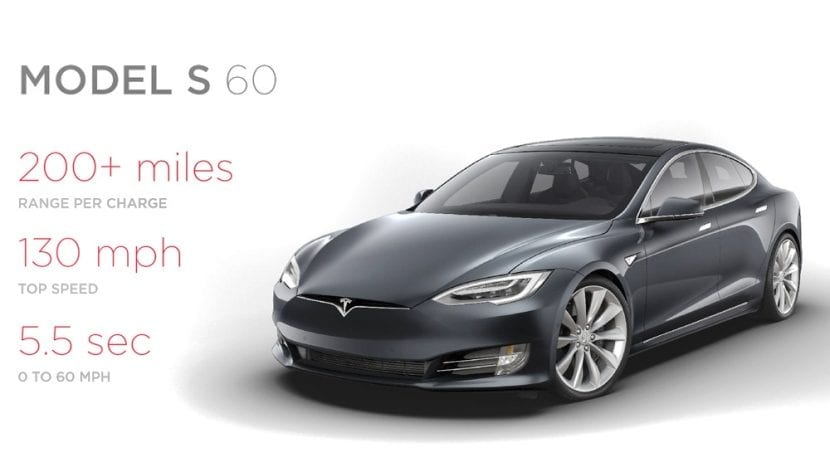Tesla Model S 60 Miles