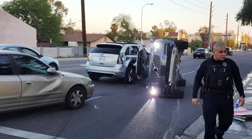Uber accidente coche autónomo