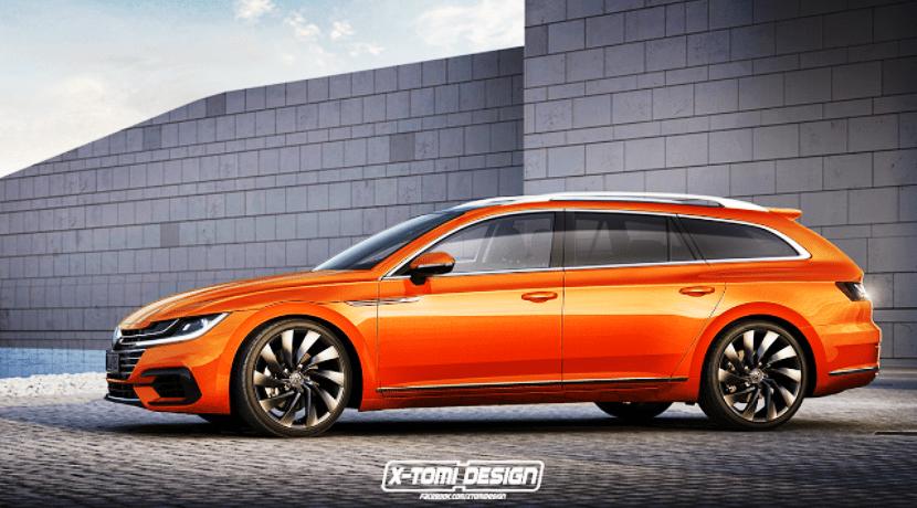 Volkswagen Arteon Variant X-Tomi Design