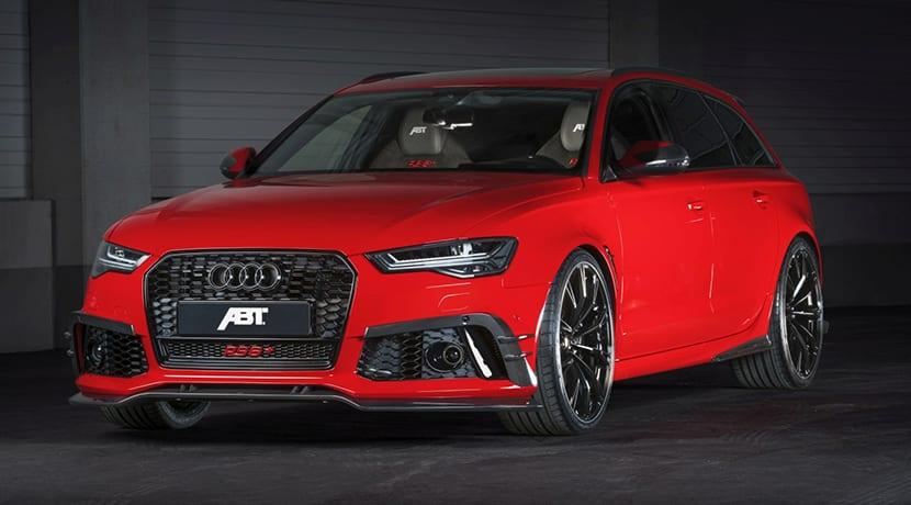 ABT RS6+ para el Salón de Ginebra