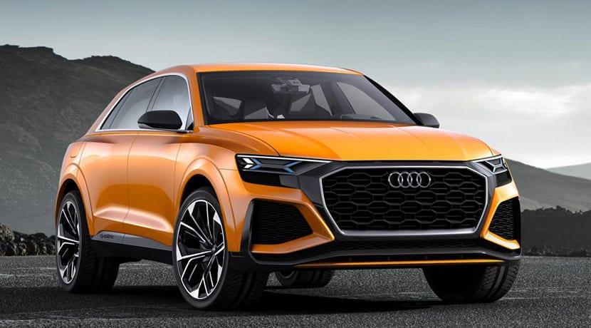 Audi Q8 Sport Concept debuta en Ginebra