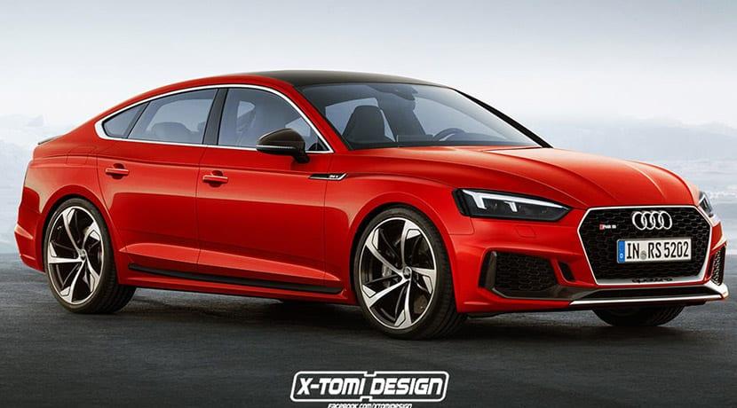 Audi RS 5 Render