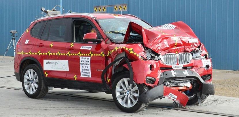 BMW X5 E70 tras una prueba de coche