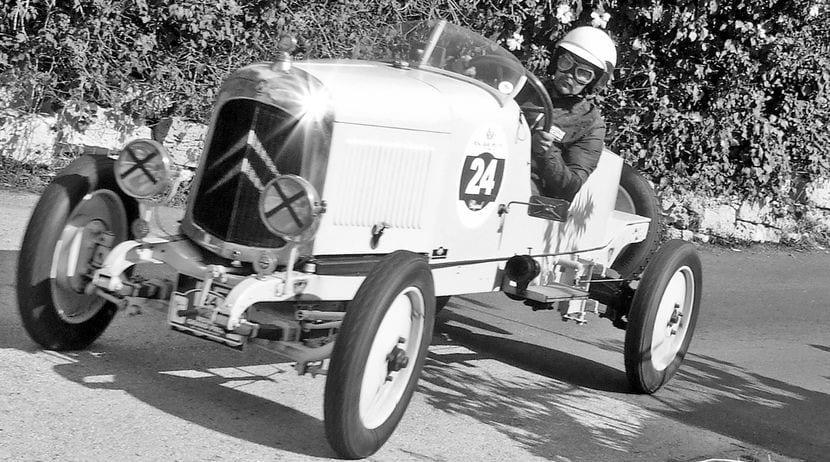Citroën antiguo que tampoco podrá circular por Barcelona