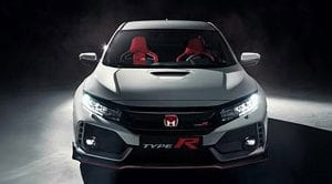 Honda Civic Type R filtrado