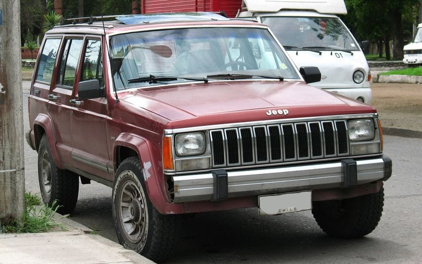 Jeep Cherokee XJ - Primera generación del modelo