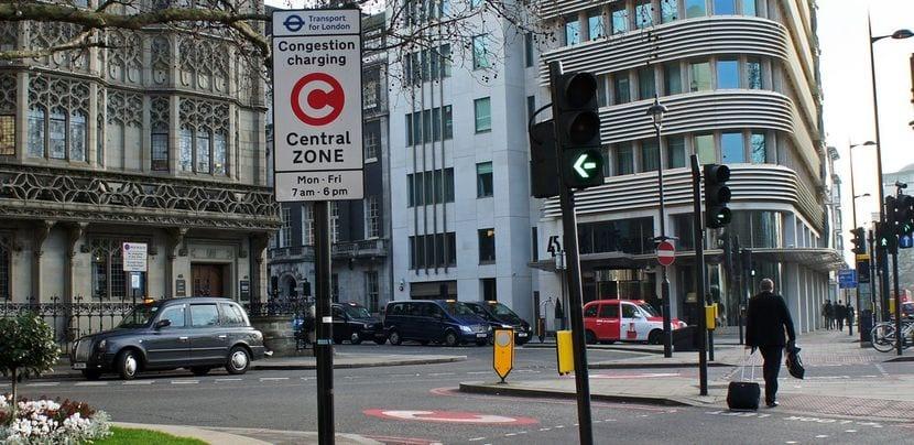 Peaje urbano de Londres
