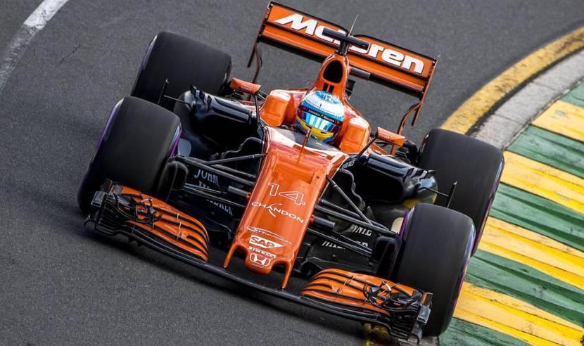 McL32 de Alonso