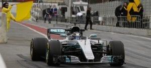 Mercedes W08 F1 2017