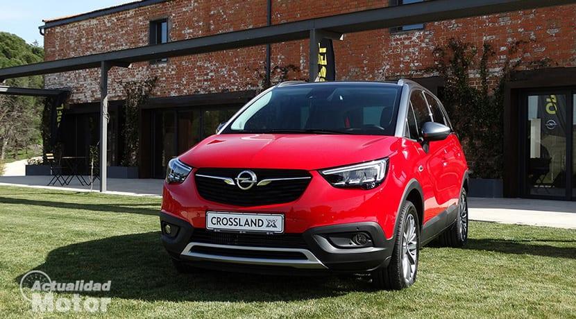 Presentación Opel Crossland X
