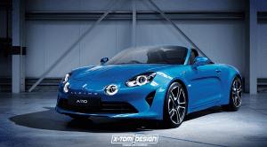 Alpine A110 Cabrio render de X-Tomi Design