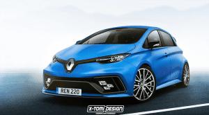 Render Renault ZOE por X-Tomi Design