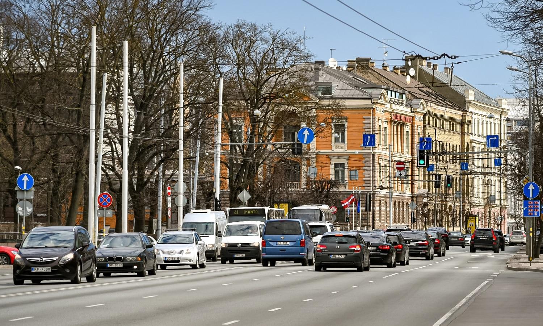 Imagen del tráfico