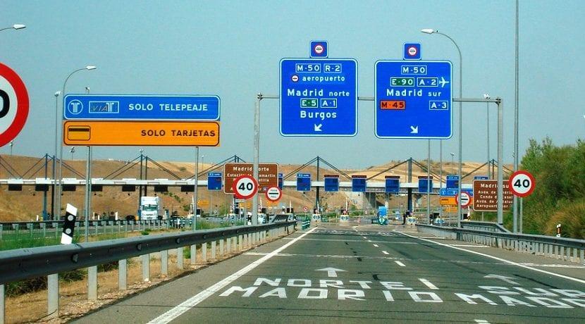 Autopista peaje