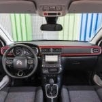 Interior del Citroën C3