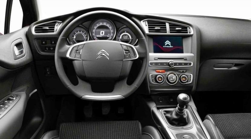Interior del Citroën C4