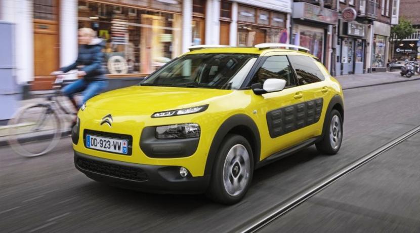 El Citroën C4 Cactus en ciudad