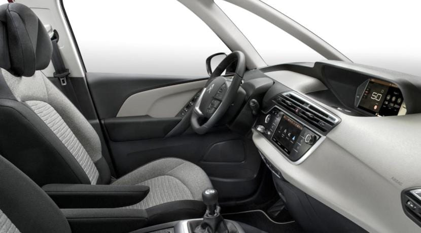 Interior del Citroën Grand C4 Picasso
