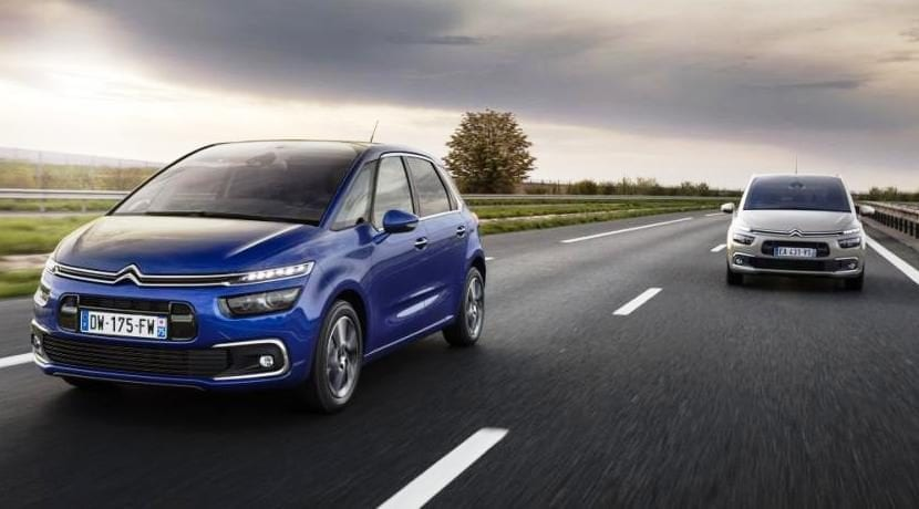 Citroën Grand C4 Picasso en acción