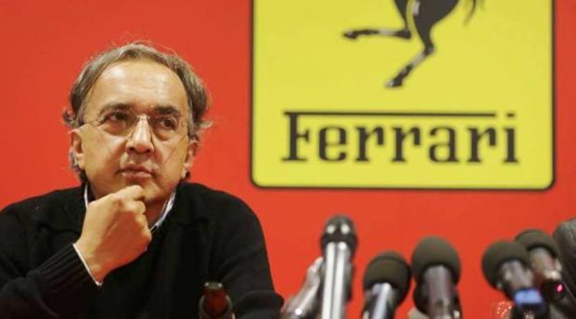 FCA Ferrari Sergio Marchionne