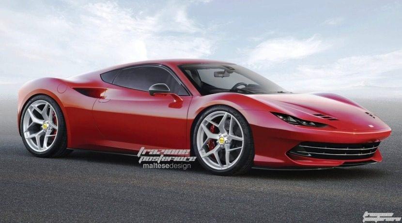 Ferrari Dino Render