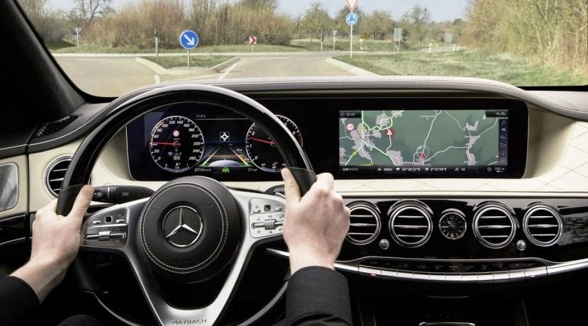 Mercedes-Benz Clase S Facelift interior 1
