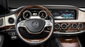 Mercedes-Benz Clase S interior actual
