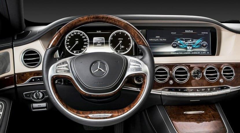 Mercedes-Benz Clase S interior actual