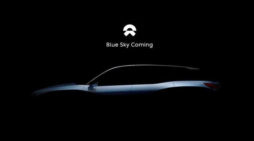NIO Blue Sky teaser